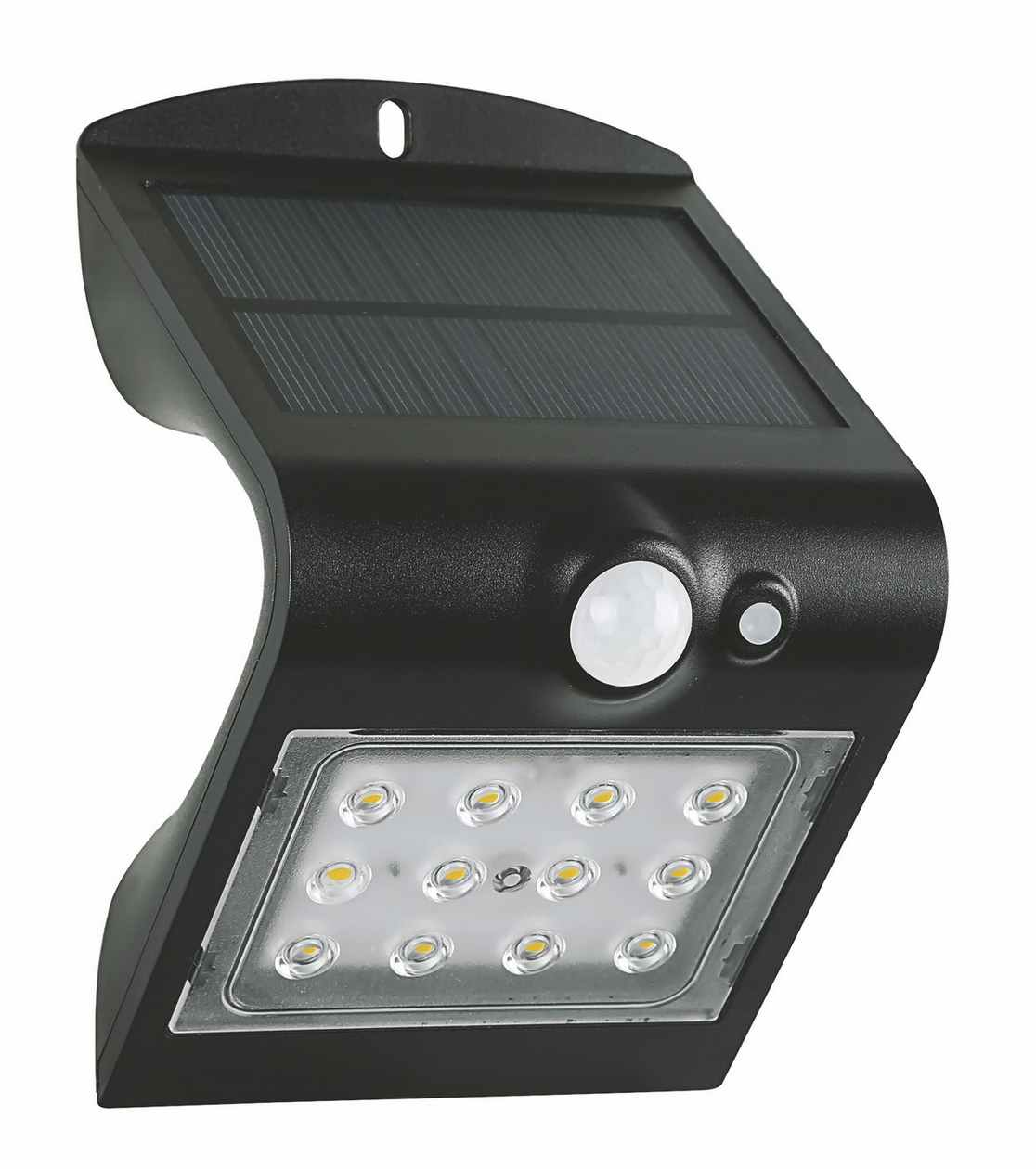 FOX SOLAR PIR 12LED B NW